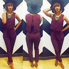 I have this jumpsuit in black...LOVE it!!!