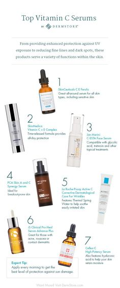 7 Vitamin C Serums That Are Worth the Splurge. Top Vitamin C Serums-DermStore