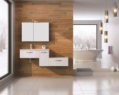 Play white. #elita #meble #lazienka #play #bathroom #furniture