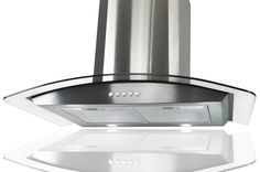 "GTC Kitchen Stainless Steel 30"" Glass Wall Mount Range Hood Stove Vents #smartchoiceproducts"