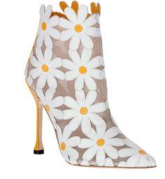 Manolo Blahnik Margolotta ankle boot on shopstyle.co.uk