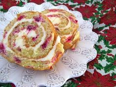 Easy To Be Gluten Free   Cranberry Cake Roll - will do this with raspberries instead of cranberries and chocolate mousse frosting on the outside for a Buche de Noel look.