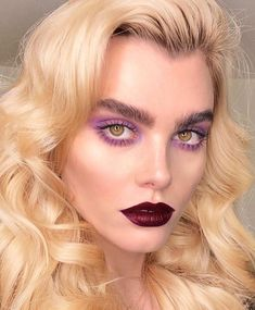 Modern runway beauty and makeup ideas for Kate Beavis Your Vintage Life, vintage… – Beauty Make up Styles Runway Makeup, Glam Makeup, Pretty Makeup, Makeup Art, Makeup Tips, Makeup Looks, Eye Makeup, Makeup Ideas, Rock Makeup
