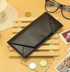 Handgemachte Retro Style Frauen Leder Geldbörse von FashionZone2013, $13.90