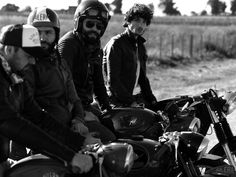In addition to their shoot for Remix magazine, Lucho Jacob works with photographer Gabriel Rocca for Herencia Argentina's spring 2011 campaign. Biker Style, Gabriel, Men's Fashion, Campaign, Spring, Photography, Cars, Argentina, Motorbikes
