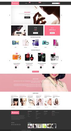 Perfumes Online Store