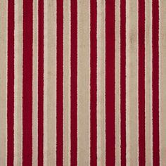 Cut Velvet 20760-06 1 Red, Gold, Beige