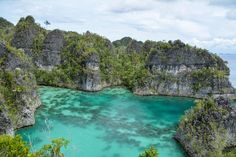 Star shaped bay at Pianemo, Raja Ampat (Indonesia). Just one of the wonders you can see in this part of the world. More info now on the blog!