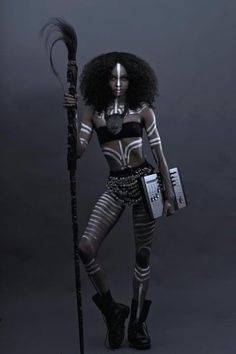 People of Color in Science Fiction. Afrocyberpunk.