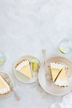 Pretzel Lime Pie