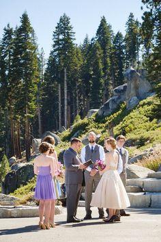 Yosemite Wedding | Nate & Amanda | Ahwahnee Hotel | Glacier Point Ceremony | AddyRosedesign.com | Patrickpike.com #addyroseweddings #yosemitewedding