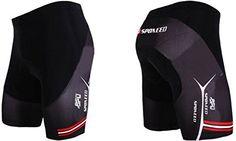 Men's Cycling Pants - Sponeed Mens Bike Shorts Gel Padded Cycling Pants Tights Bicycle Wear >>> See this great product.