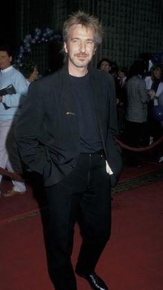 At the Die Hard premier.  That hair! ♥