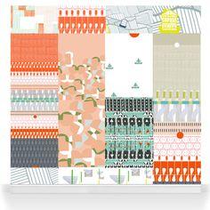 "Renée Rossouw - Robin Sprong Surface Designer. ""I Love My Laundry"""