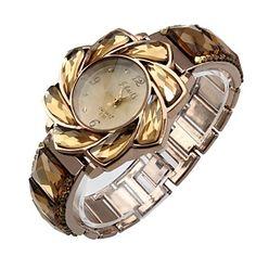 Women's Bracelet Watch Quartz Analog Bohemian Elegant Flower Case Rose Gold – GBP £ 12.40