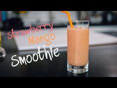 Super Easy Strawberry Mango Smoothie