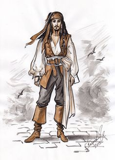 Image result for jack sparrow fan art