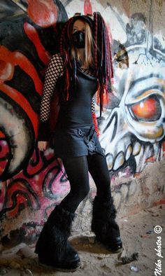 A blog for all aspects of Cyber Fashion. Regular Cyber Goth to a colorful rainbow or pastel Cyber...