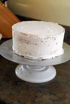 I call it Cake Making 101, and it is the basics of learning to bake and decorate a cake.