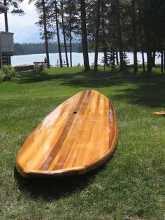 11' SUP (Stand-Up Paddleboard) Plans and Instructions - Timeless Surf Company