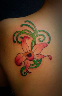 Tattoo Orquidea