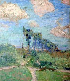 Le Jardin à Amfreville, vers 1905-7 - Edouard Vuillard