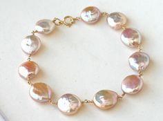 Bracelet Blush Pink Freshwater Pearl