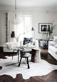 Dark floors - clean design