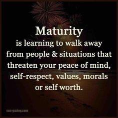 1 version of maturity is... #PersonalLeadership #Women #WomenInLeadership #GKMTNconsults
