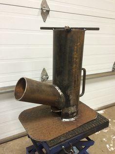 camping rocket stove