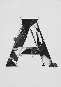 Experimental styles by Laura Dillema, via Behance