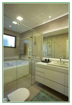 Excellent idea on Small Bathroom With Glass Partition