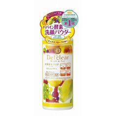 Meishoku☆Japan-Det Clear AHA+BHA Bright& Peel Fruit Enzyme Powder Wash 75g #MeishokuJapanDetClear