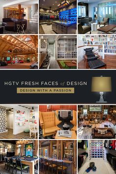 12 Unique Hobby Spaces and Closets: From creativity-boosting craft rooms to blockbuster-worthy home theaters, these stylish spaces take hobbies to a whole new level. >> http://www.hgtv.com/design/fresh-faces-of-design/2015/design-with-a-passion?soc=pinterest