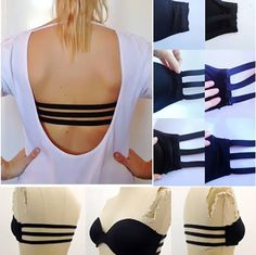 DIY 3 Strap Bra for Backless Tops and Dresses