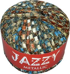 "BLUE SADDLE ""Jazzy"" Brand Ladder Yarn. Replacing our Dark Horse Beautiful. Better quality. CreativeFiberArts.com"