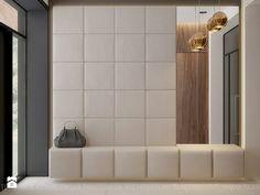 dom jednorodzinny - Średni hol / przedpokój, styl nowoczesny - zdjęcie od TK Architekci