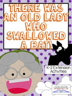 Extend this fun Halloween Read-a-loud using 6 different activities for reading, writing, and math.  Perfect for preschool, kindergarten, first, and second grade this book unit will integrate learning into your classroom.  Included in this interactive book study are: 1.