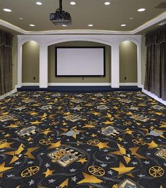 Rug Or Carpet For Playroom Theater Room Theatre Rooms