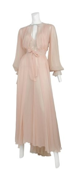 Linda Evans?  Archival Hollywood Couture Nightwear 1930's - 1970's
