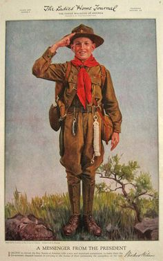 vintage boy scout photos - Google Search