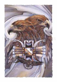 Jody Bergsma Animal Spirits Prints | Bergsma Gallery Press :: Products :: Art Cards :: Birds :: Eagles ...