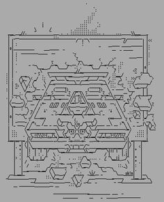 Amiga ASCII by Sk!n, 2014.From his new ASCII-collection,