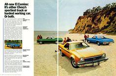 1973 Chevrolet El Camino.