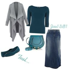 """""""Teal"""" by jen1301 on Polyvore"""