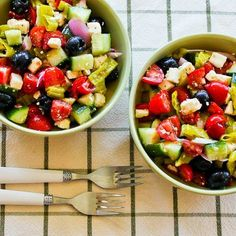 25 Favorite Healthy Cucumber Salads to Keep You Cool [from Kalyn's Kitchen]