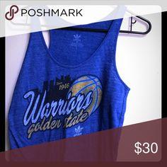 Golden State Warriors tank Authentic Golden State Warriors tank. Adidas Tops Tank Tops