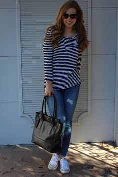 a pearl kind of girl | Casual Stripes