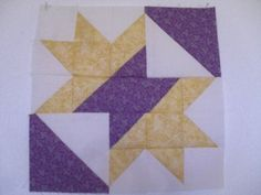 Queen Charlotte's Crown quilt block pattern and tutorial