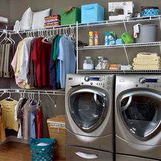 299 best laundry \u0026 utility rooms images in 2019 laundry roomclosetmaid tip don\u0027t forget to create plenty of hang space for drying clothing